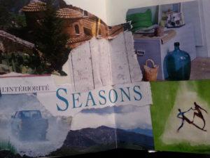 Journal de mes 12 saisons 2021  - HEBDOMADAIRE @ Chez vous, avec des fiches illustrées.