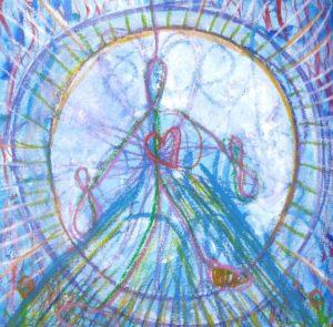 Mandala intuitif : 7 étapes pour se relier à sa boussole intérieure @ Chez vous, avec des fiches illustrées.